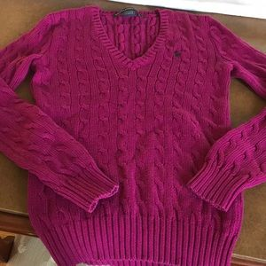 Ralph Lauren cable sweater! Med perfect condition